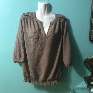 🌹🌷cute 👚 blouse a.n.a size L ❤️💓